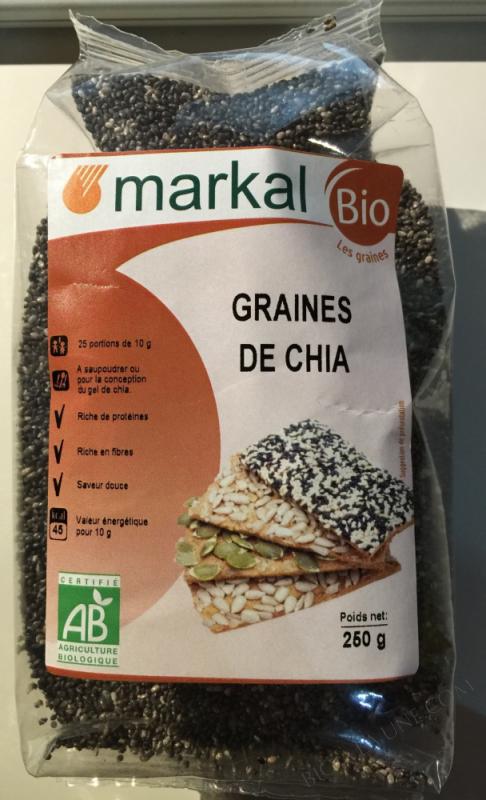 Graines de chia - 250g