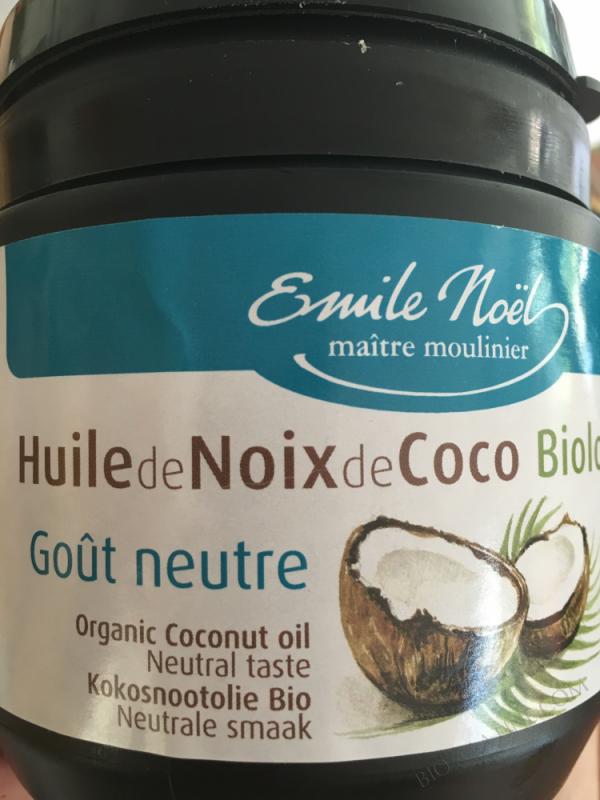 Huile de coco desodorisee biologique 500ml
