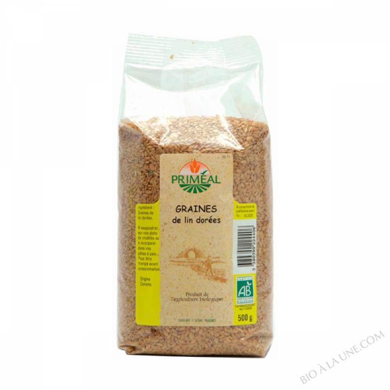 Graines de Lin Dore 500 g