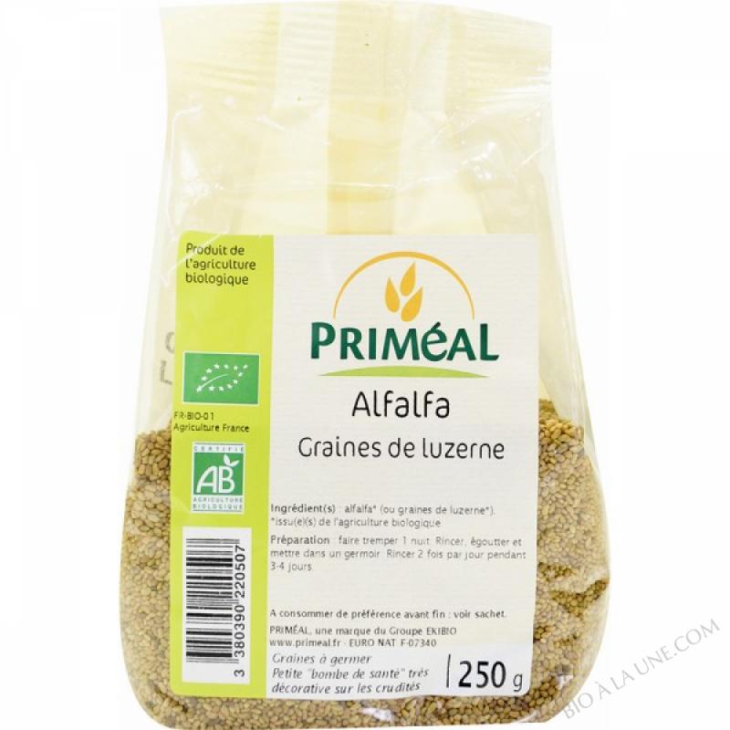 Graines à germer Alfalfa 250 gr
