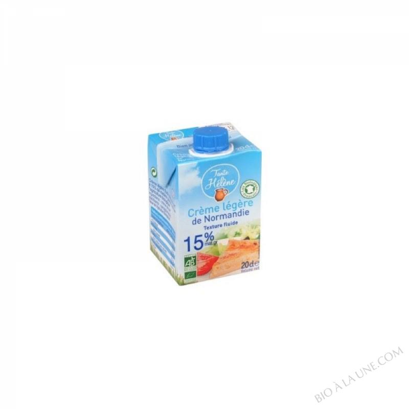 Crème légère de Normandie (15%MG) - 20cl