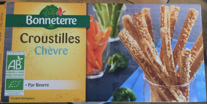 Croustilles fromage de Chevre 100gr