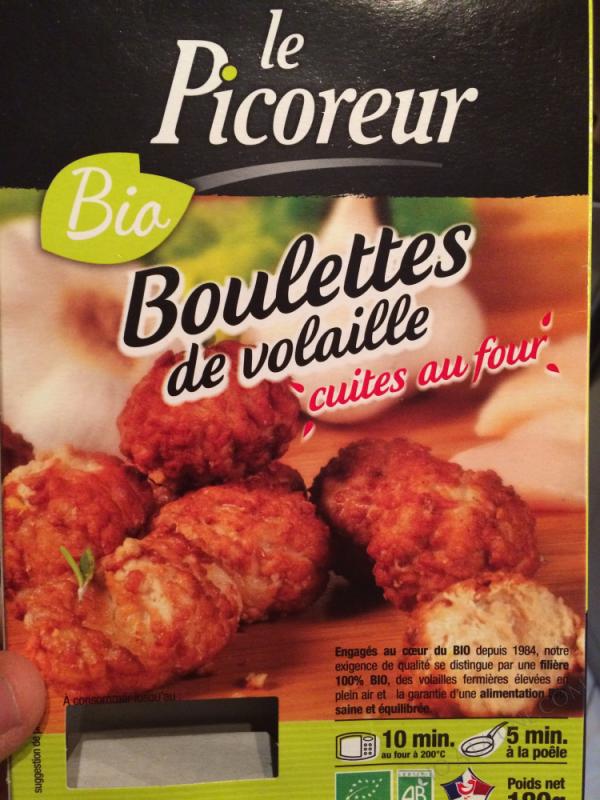 BOULETTES DE VOLAILLE CUITE - 180 G