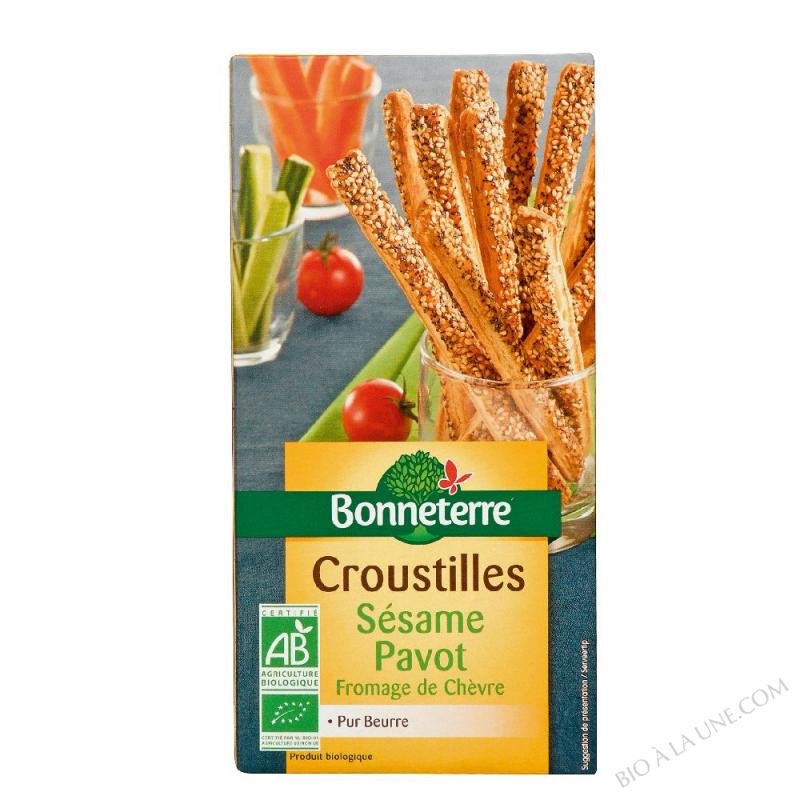 Croustilles Sésame Pavot (pur beurre)