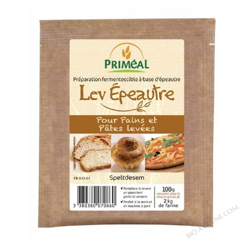 Preparation fermentescible Lev'Epeautre 100g