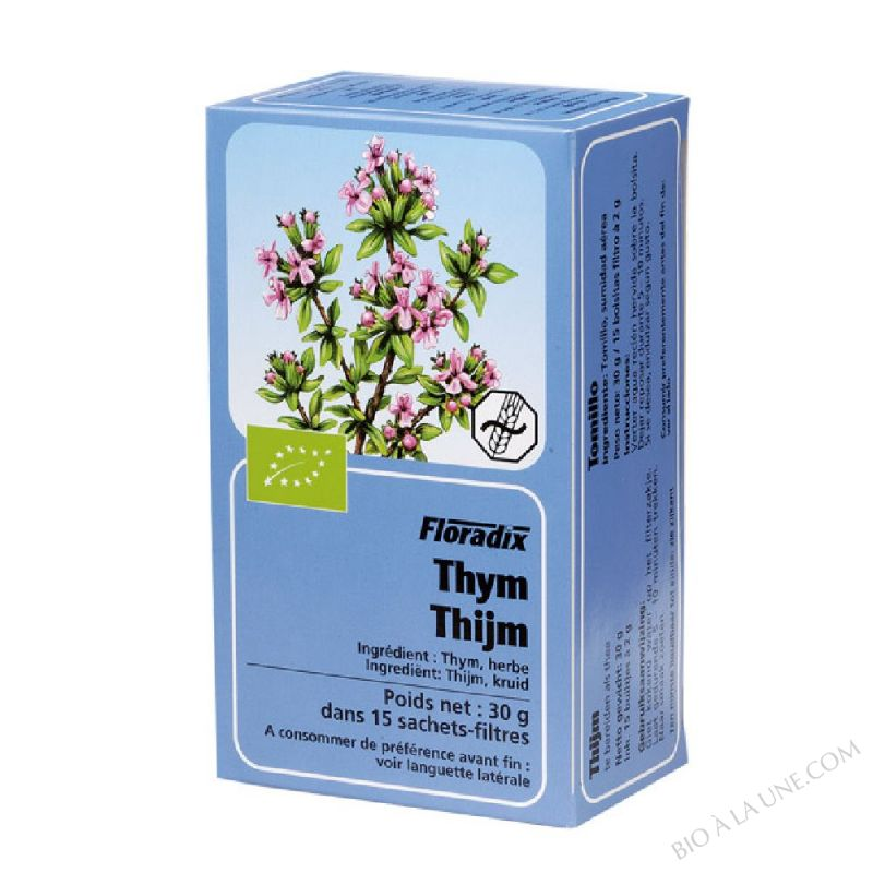 Tisane Floradix Thym 15 sachets