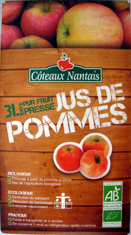 BIB JUS DE POMMES 3L