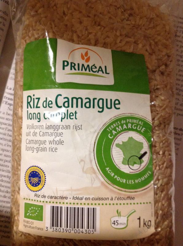 Riz Long Complet de Camargue 1kg