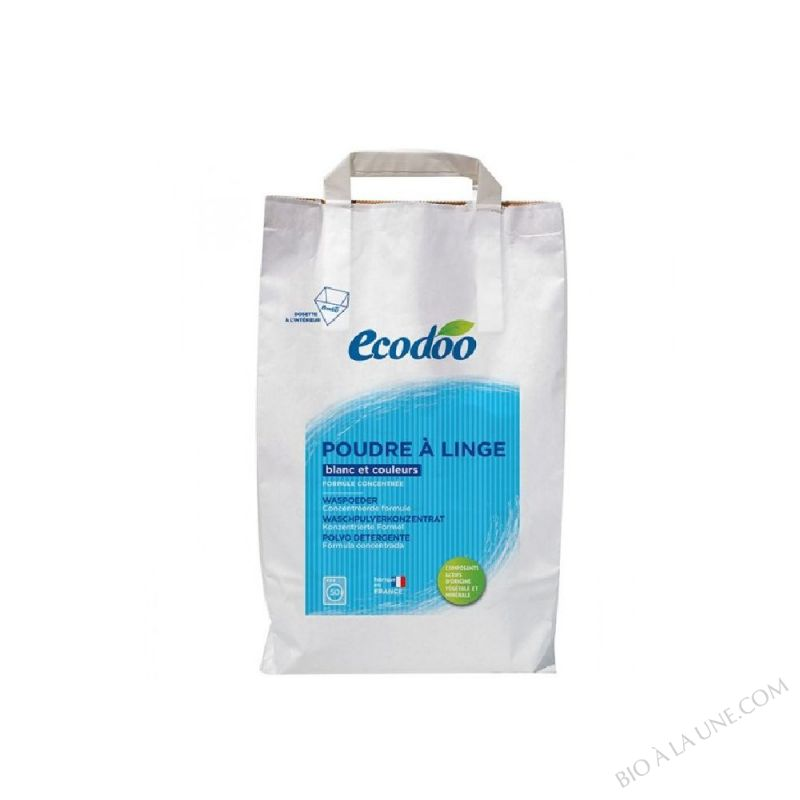 POUDRE A LINGE 3KG ECODOO
