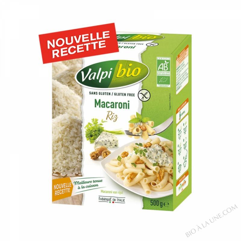 Macaroni de riz Bio 500g