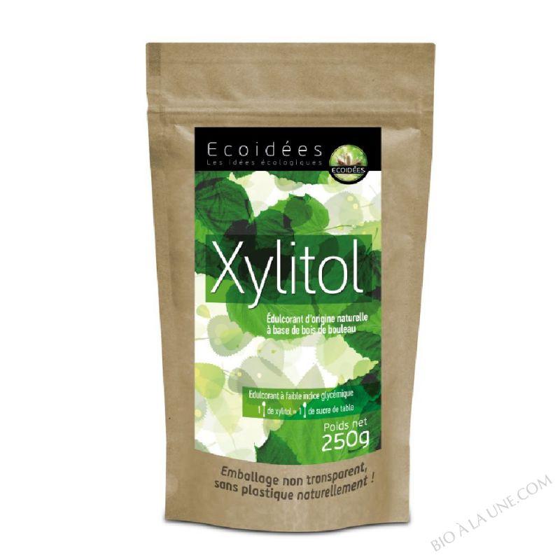 Xylitol (édulcorant à base de bois de bouleau) marque
