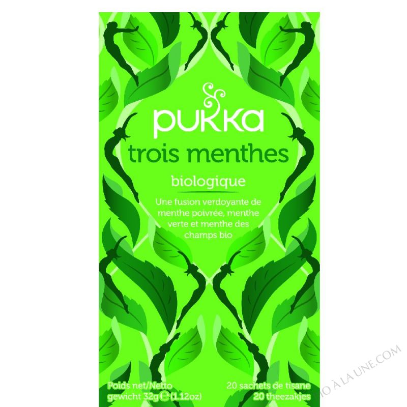 Tisane 3 Menthes BIO 20 sachets
