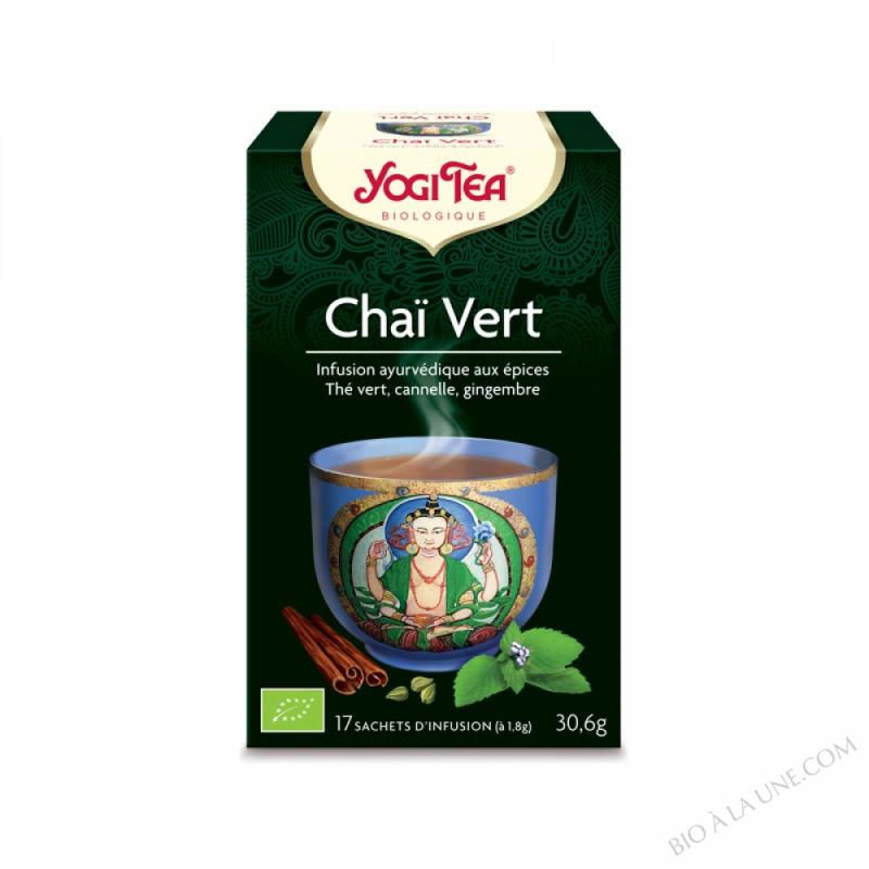 The Chaï Vert à la Menthe x 17 sachets