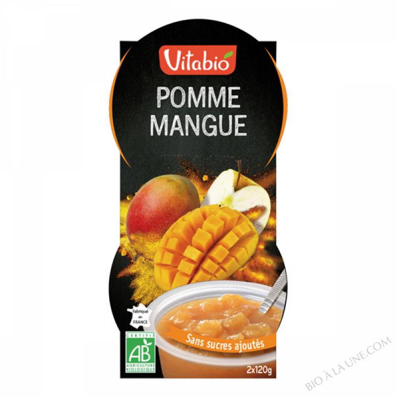 Dessert Pomme Mangue -  - 2x120g