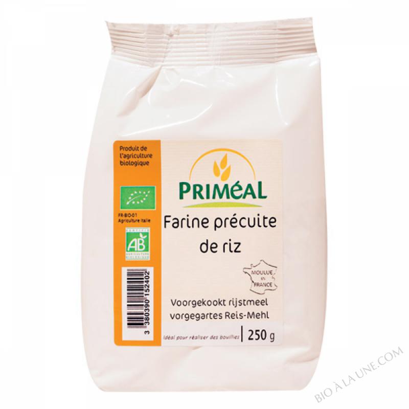 Farine Precuite de Riz - Creme de Riz Bio 250g
