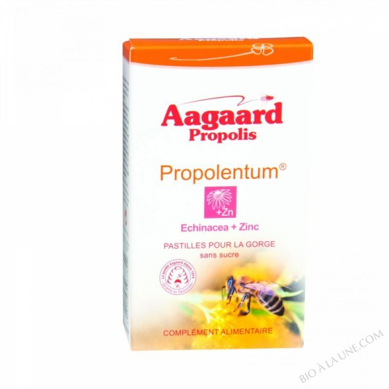 Propolentum + Echinacea + Zinc - 30 pastilles