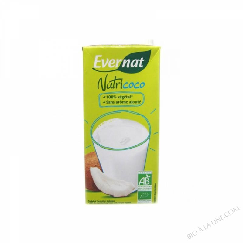 NUTRICOCO (BOISSON VEGETALE AU LAIT DE COCO) - 1 L