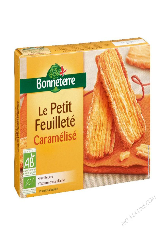 LE PETIT FEUILLETE CARAMELISE (PUR BEURRE) 120GR