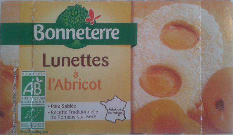 LUNETTES À L'ABRICOT 200GR