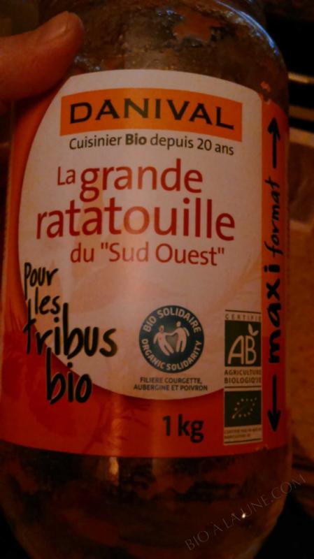 Grande ratatouille du sud-ouest BIO 1kg