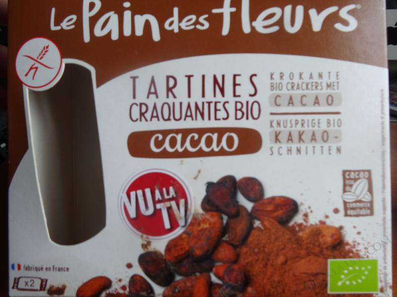 Tartines craquantes au cacao - 160g