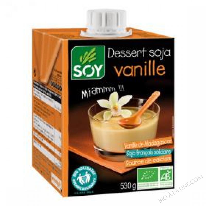 Dessert soja Vanille 530g