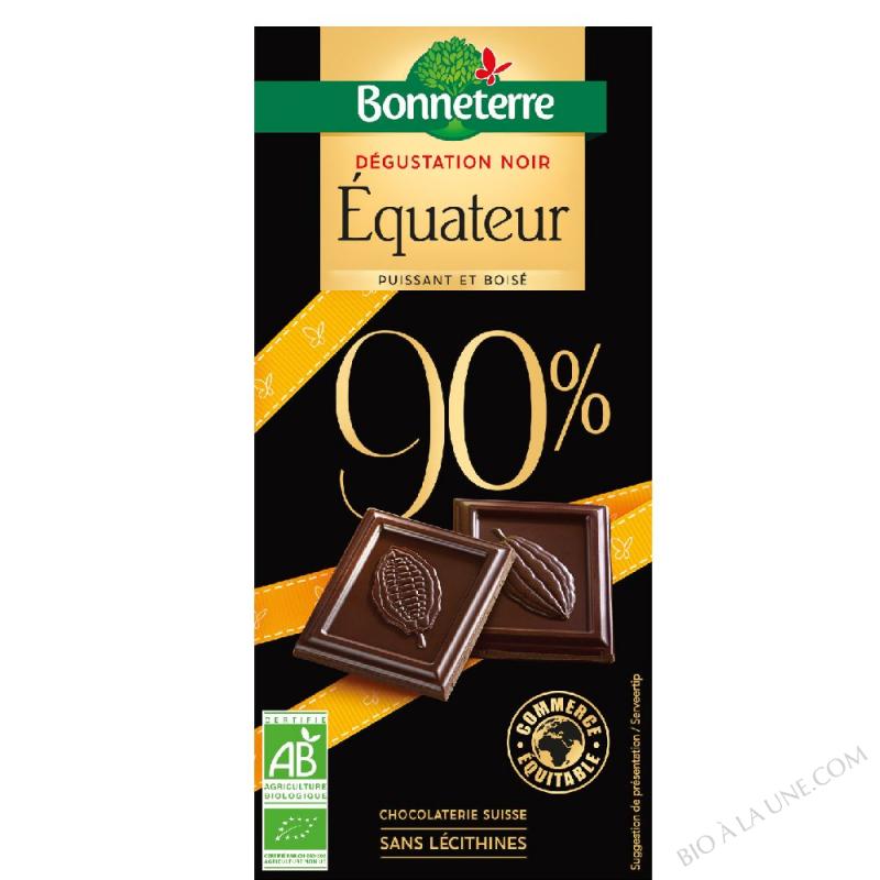 Dégustation Noir Equateur 90%