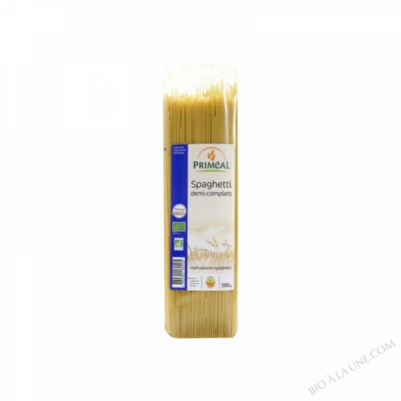 Spaghettis Demi-Complets 500 g