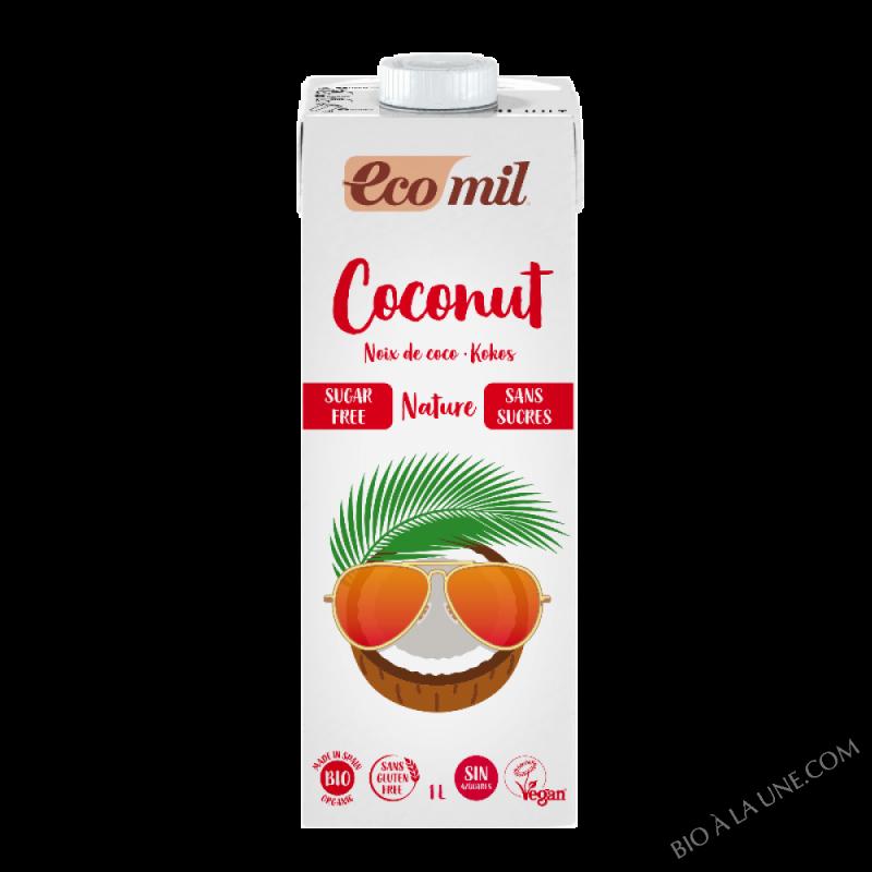 Boisson lait de coco sans sucres - 1L