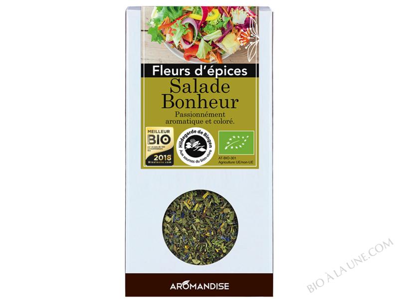 FLEURS D'EPICES SALADE BONHEUR AROMANDISE