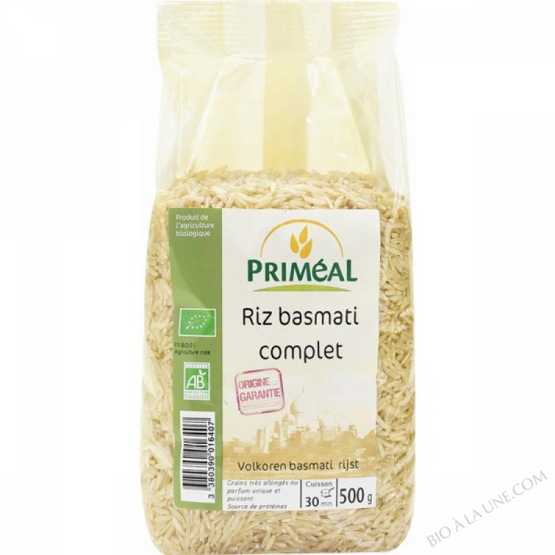 Riz Basmati Complet 500 g