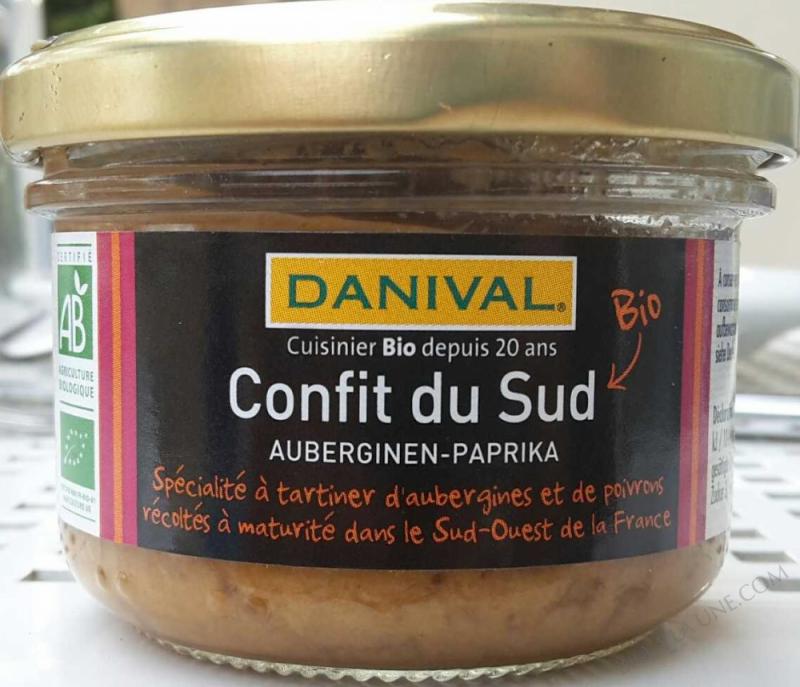 Confit du sud aubergines-paprika tapas- 100g