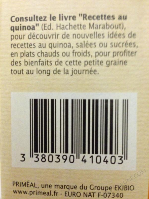 Quinoa en Boîte 500g