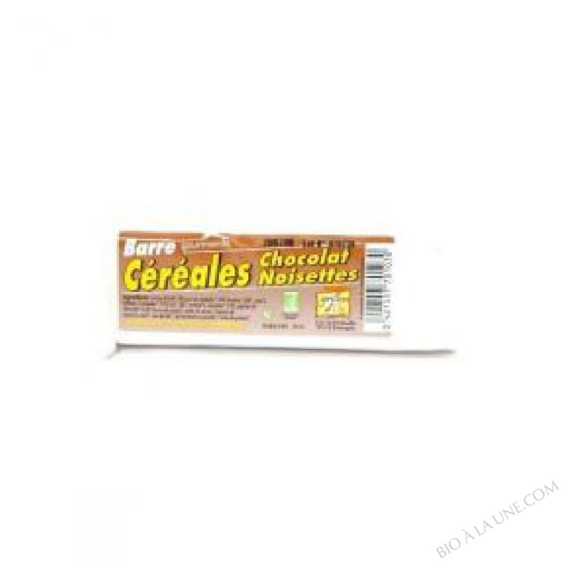 Barres Cereales Chocolat-Noisettes BIO