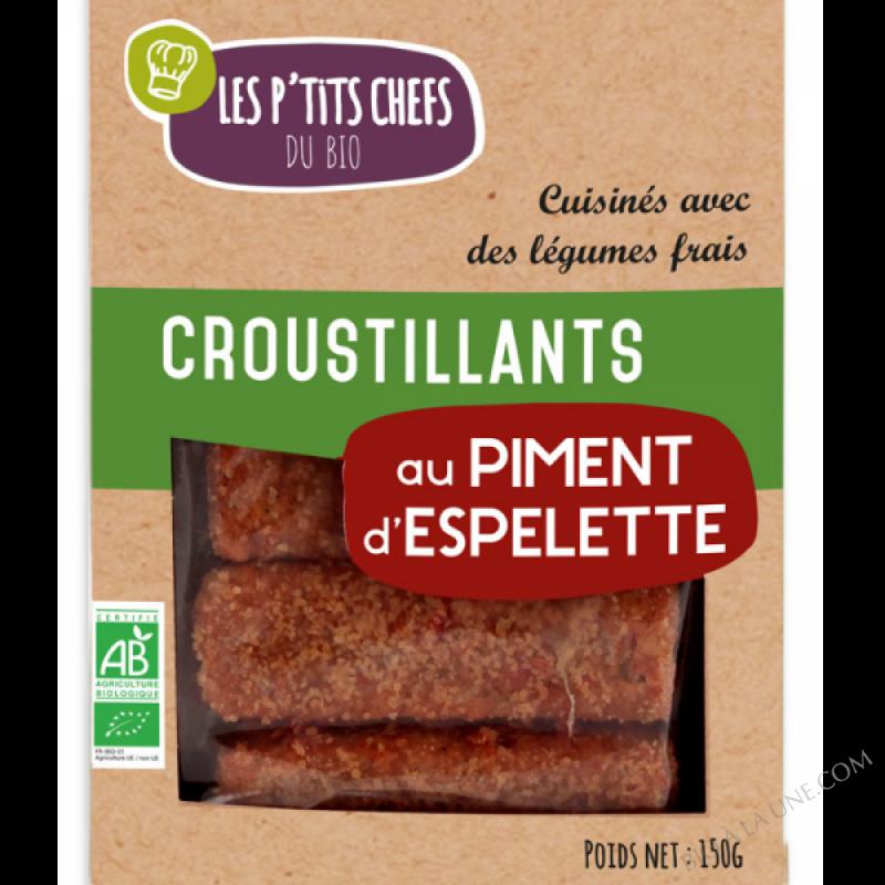 CROUSTILLANTS AU PIMENT D'ESPELETTE 5 X 30G