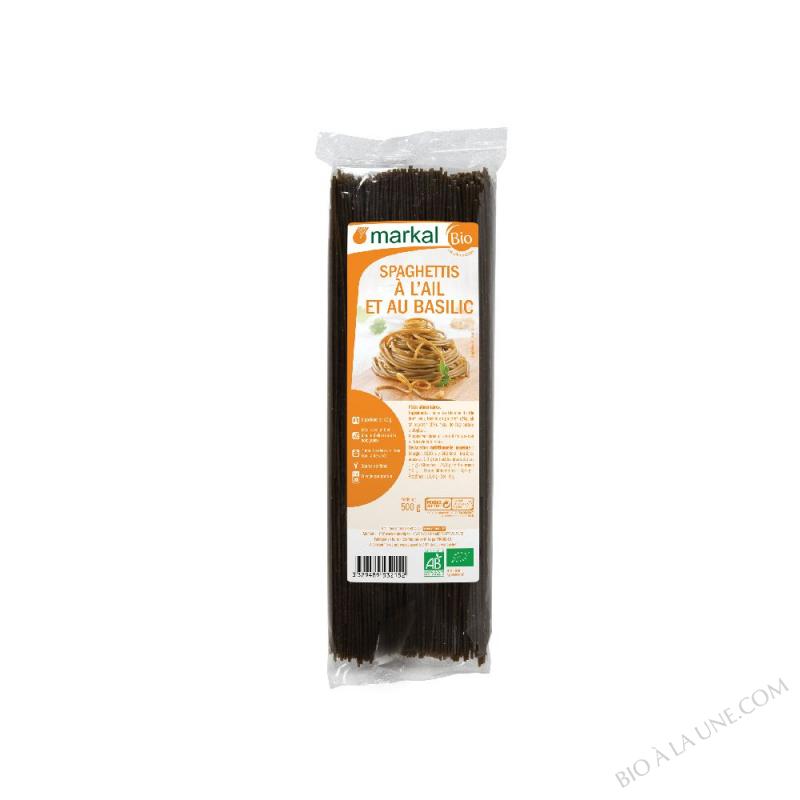 Spaghetti ail-basilic Cuisson rapide