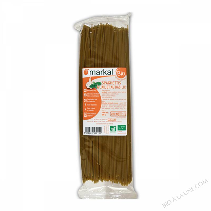 Spaghettis Ail Basilic - 500g