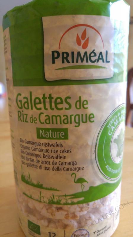 Galettes de riz de Camargue salees 130g