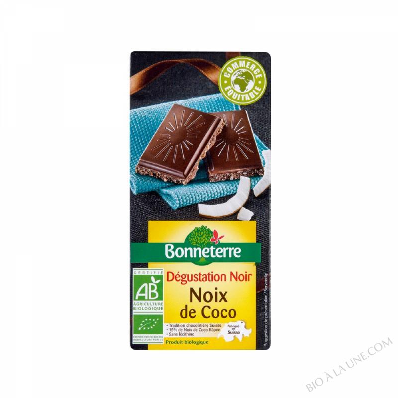 Chocolat Noir Noix De Coco 85gr