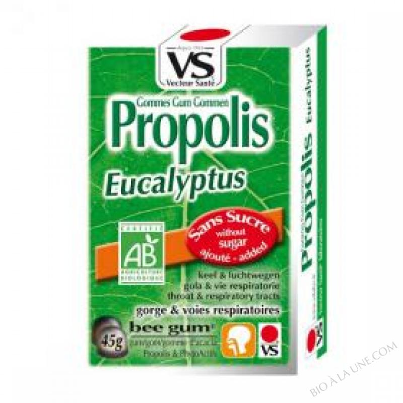 Gommes propolis/eucalyptus bio 45g