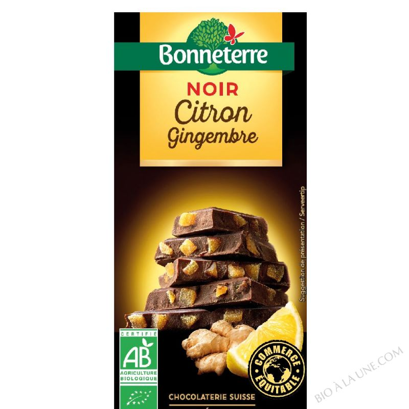 Noir Citron Gingembre