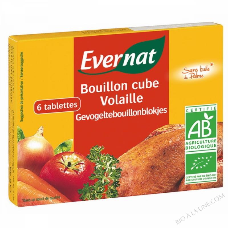 BOUILLON CUBE VOLAILLE (6 TABLETTES) 6X10GR