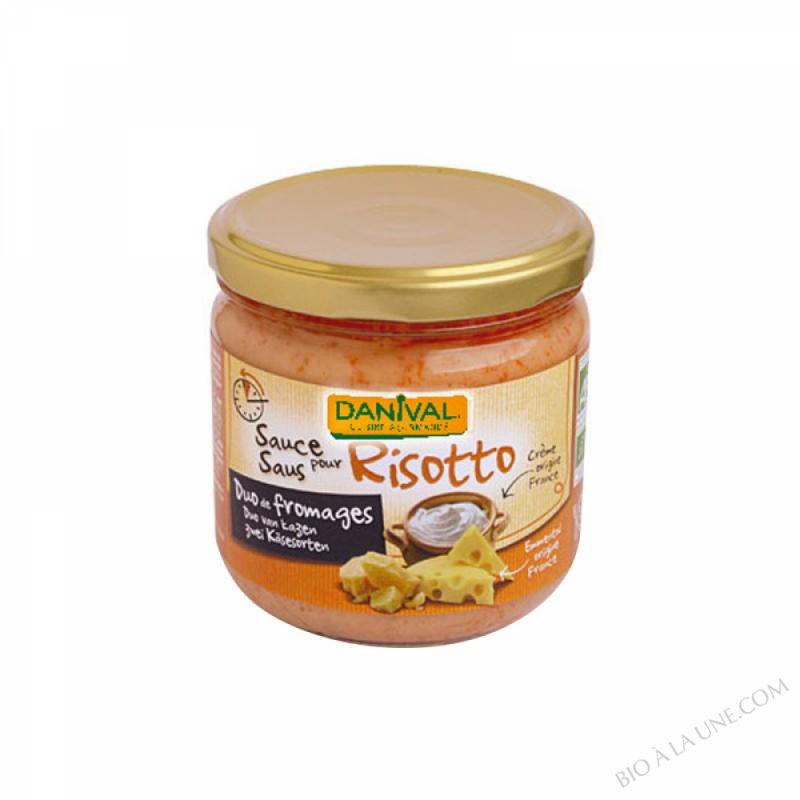 Sauce pour Risotto Duo de fromages 330g
