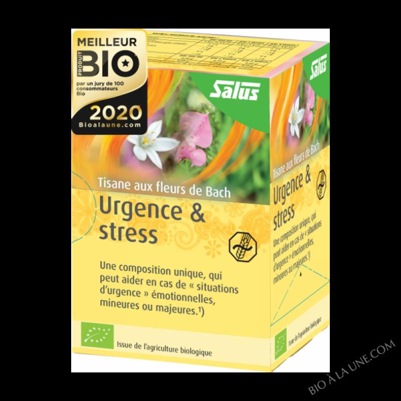 Tisane aux fleurs de bach urgence et stress
