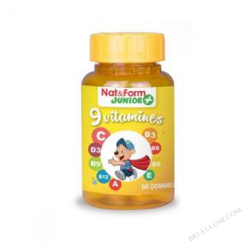Ours+ 9 vitamines 60 oursons