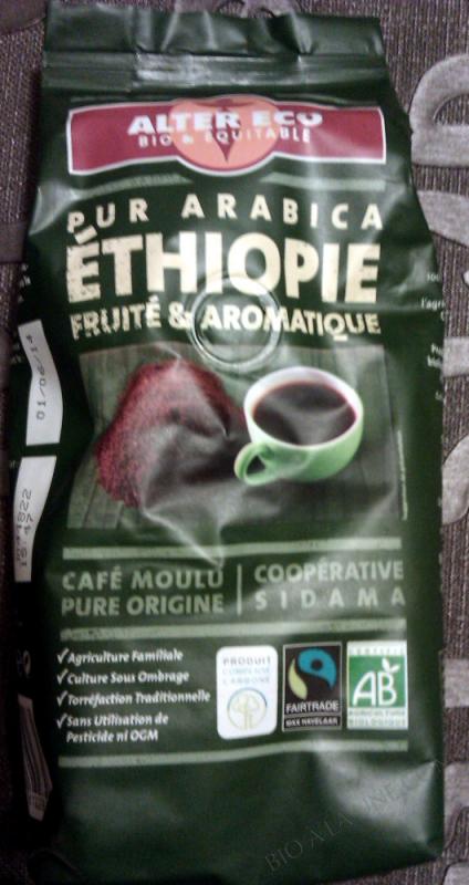 CAFE MOKA AWASA ETHIOPIE BIO 250G