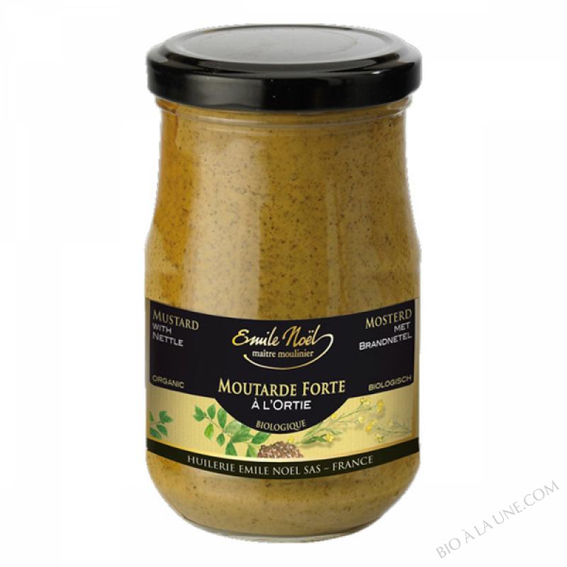 Moutarde à l'ortie bio - 200g
