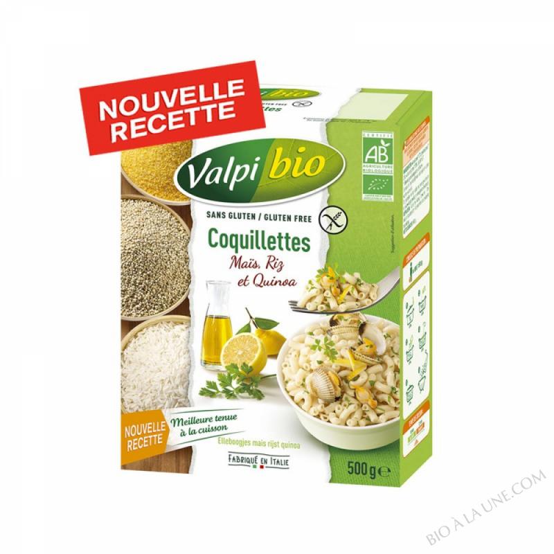 Coquillettes Mais Riz Quinoa Bio 500g