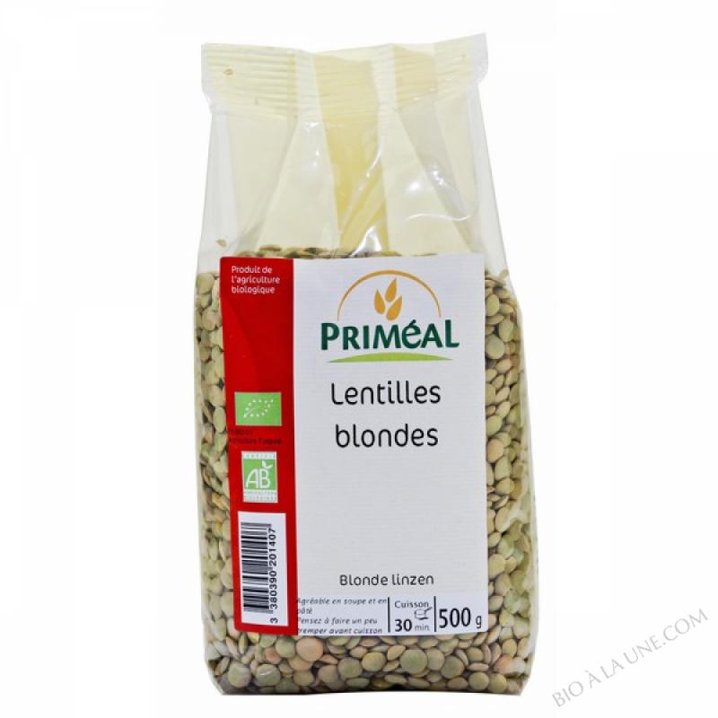 Lentilles Blondes Bio 500 g