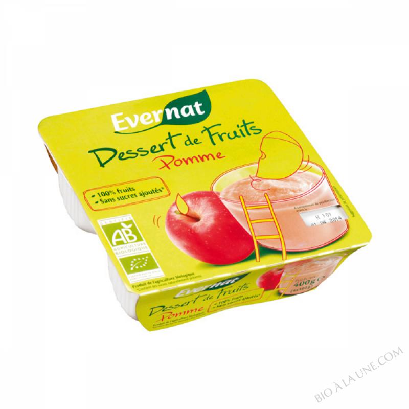 Dessert de Fruits Pommes 8x100g